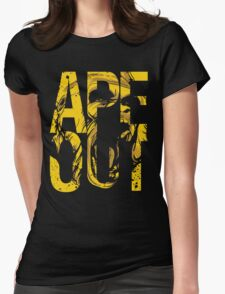 Discreetly Greek :: Alpha Phi Alpha :: APE OUT Womens Fitted T-Shirt