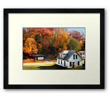 Autumn's Glory Framed Print