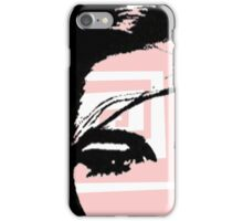 Pink abstract image iPhone Case/Skin