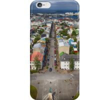 Downtown Reykjavik iPhone Case/Skin