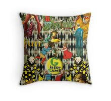 Game Fun Throw Pillow