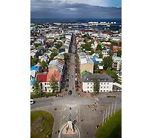 Downtown Reykjavik Photographic Print