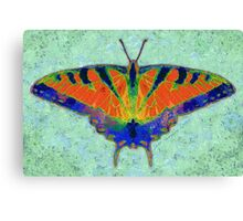 BUTTERFLY FORESEES A BREEZE Canvas Print