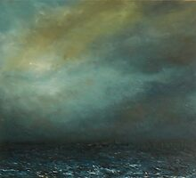 Sun Threatens off Scarborough by Kj Bentley
