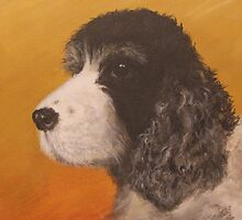 Portrait of Pickles by Lee Twigger