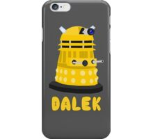 D is for Dalek iPhone Case/Skin