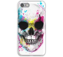CMYK Skull iPhone Case/Skin