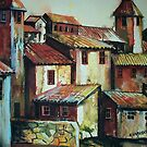 Spanish Village by Sally Sargent