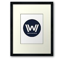 Westworld Framed Print