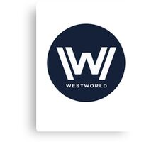 Westworld Canvas Print