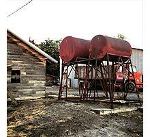Farm equipment  Photographic Print