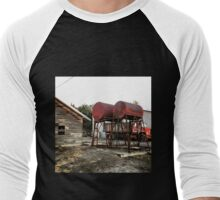 Farm equipment  Men's Baseball ¾ T-Shirt