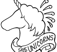 Save the Unicorns! DIY Version by revolvingbear