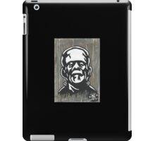 frankenstein painting iPad Case/Skin