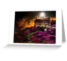 Cresent City Lighthouse Greeting Card