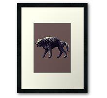 Castlevania - Warg Framed Print