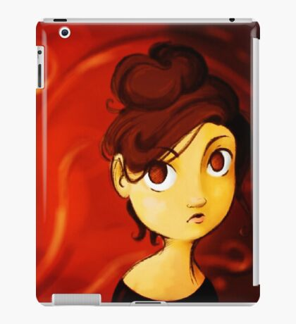 Red iPad Case/Skin