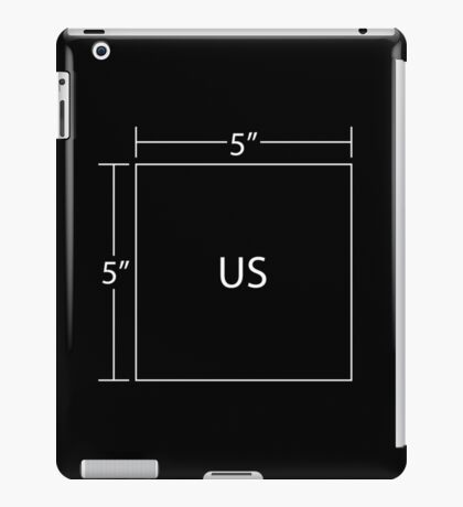 We're Five by Five (White) iPad Case/Skin