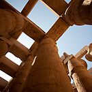 Edfu temple by david marshall