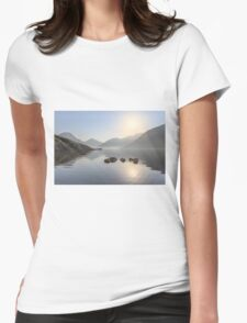 A Place Called Morning Womens Fitted T-Shirt