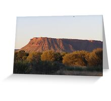 Changing colours, Carmichael Crag. Nth.Territory. Australia Greeting Card