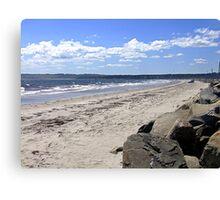 Crescent Beach, South-West Canvas Print
