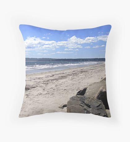 Crescent Beach, South-West Throw Pillow