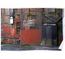 Glasgow - No Parking Poster