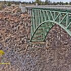 Crooked River Original Bridge by WiredMarys