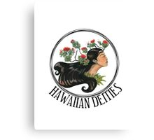 Hawaiian Deities Canvas Print