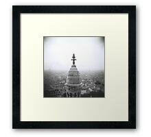 Sacre Coeur, Paris Framed Print