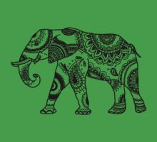 Patterned Elephant Kids Clothes