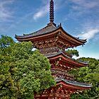 Jimokuji's Pagoda by BruceMacArthur