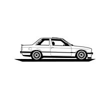 BMW e30  by boostedartwork