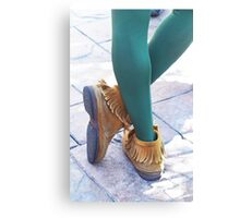 Peter Pan's Kicks Canvas Print