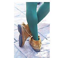 Peter Pan's Kicks Photographic Print