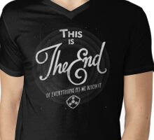 The End Mens V-Neck T-Shirt