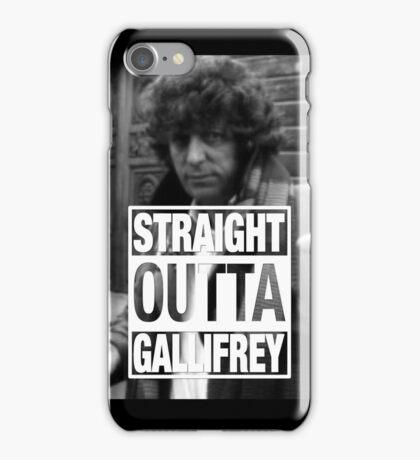 Straight Outta Gallifrey- BAKER iPhone Case/Skin