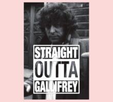 Straight Outta Gallifrey- BAKER Baby Tee