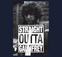 Straight Outta Gallifrey- BAKER Kids Tee