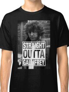 Straight Outta Gallifrey- BAKER Classic T-Shirt