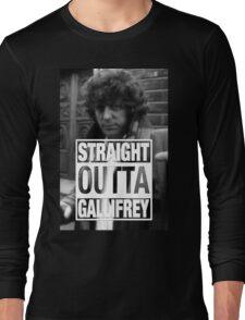 Straight Outta Gallifrey- BAKER Long Sleeve T-Shirt