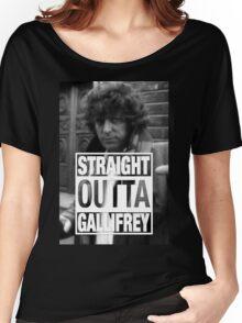 Straight Outta Gallifrey- BAKER Women's Relaxed Fit T-Shirt