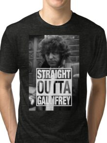 Straight Outta Gallifrey- BAKER Tri-blend T-Shirt