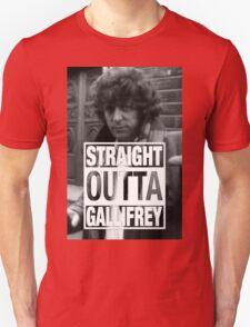 Straight Outta Gallifrey- BAKER Unisex T-Shirt