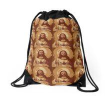 RESPAWNING JESUS Drawstring Bag