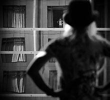 Girl in the window. by Bean Strangeways