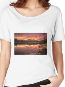 Sunset Serenity  Women's Relaxed Fit T-Shirt