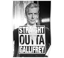 Straight Outta Gallifrey- CAPALDI Poster
