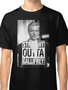 Straight Outta Gallifrey- CAPALDI Classic T-Shirt